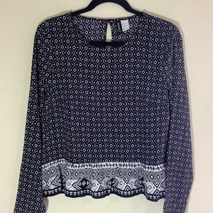 Divided by H&M Crop Blouse